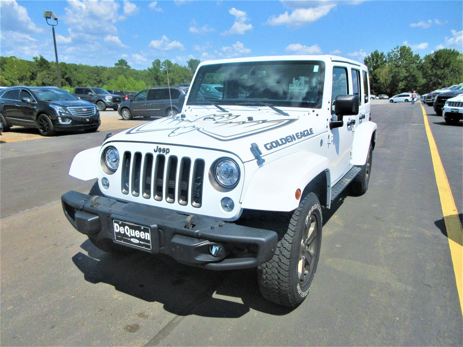 Pre-Owned 2018 Jeep Wrangler JK Unlimited Golden Eagle