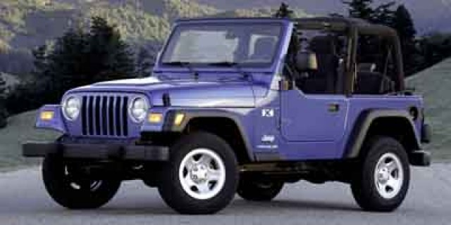 Pre-Owned 2003 Jeep Wrangler X